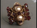 How to make a beaded bead Free and easy beading tutorial by Sidonia's handmade jewelry