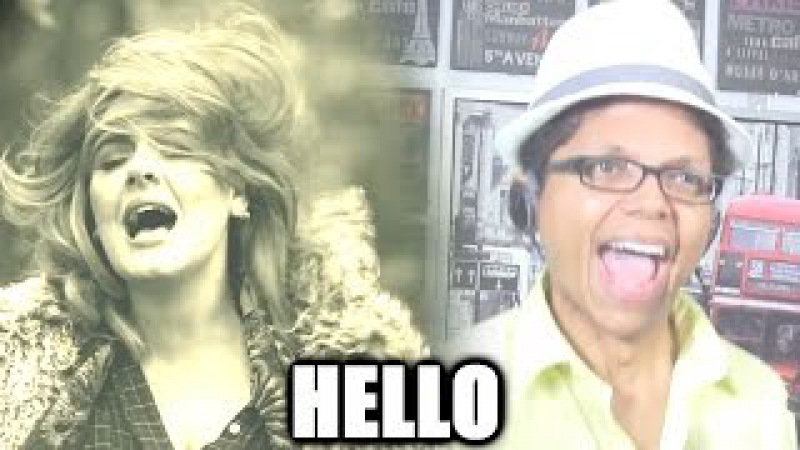 Adele - Hello - BASS Version Cover Sung by Tay Zonday