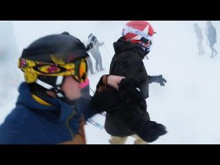 SCHNEESTURM   SnowTrip Tag 2   Dner