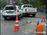 Разоблачить виновника аварии помог его собственный регистратор в Хабаровске.MestoproTV