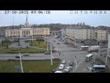 ДТП с полицейской машиной в Петрозаводске