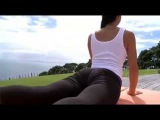 Sexy Yoga Workout Fitness, hot workout in yoga pants, Fitness: Sexy Yoga Pant Workout!