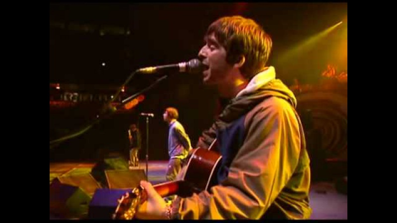 Oasis - Cast No Shadow 1996 Live UK Manchester