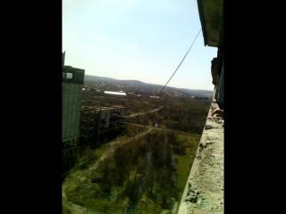 Мой первый АХУЕННЫЙ прыжок!!