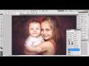Обработка детской фотографии в Photoshop