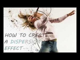 Photoshop CS6: How to create a Dispersion/Splash Effect (Beginner Friendly!)\pkj
