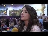 Интервью Златы Огневич на Eurovision Song Contest 2015 in Vienna