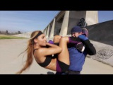 Kung Fu & MMA Girl vs Karate Guy   Martial Arts Action Scene