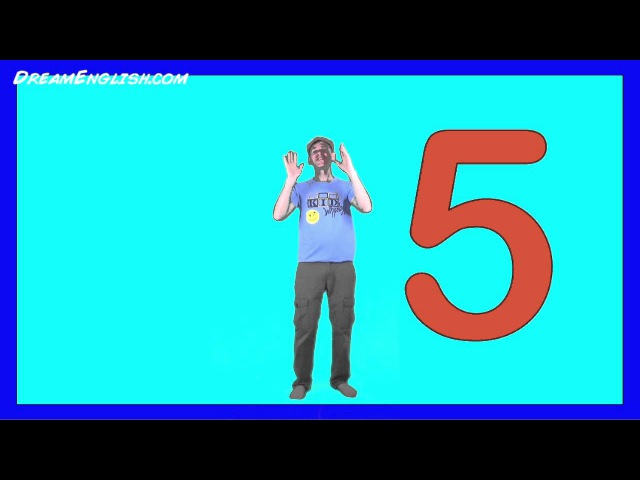 Counting 1 to 5 Song