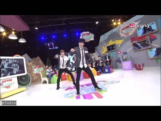 [HD/140226] BTS After School Club Ep 46: Jimin J-Hope Dance