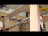 Сборка шкаф купе - алюминиевая система ИНДЕКО серия A100
