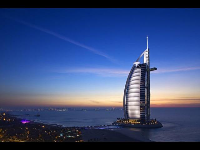 Burj Al Arab Hotel à Dubai Commercial
