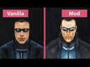 Deus Ex Vanilla vs Revision Mod Graphics Comparison FullHD 60fps