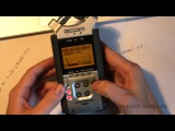 ZOOM H4n Обзор цифрового аудио рекордера + Ветрозащита своими руками + Убираем тепловой шум