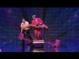 Шайтан на шоу британских талантов  Stevie Pink master illusionist takes to the stage (HD)