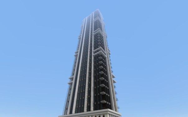 Как сделать огромные здание