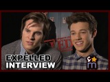 Dramatic One Direction Lyrics w/ Marcus Johns & Cameron Dallas - Expelled Interview