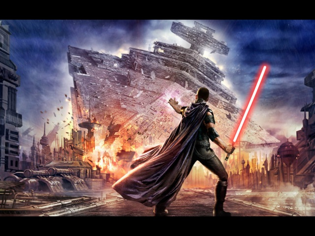 Star Wars The Force Unleashed Игрофильм