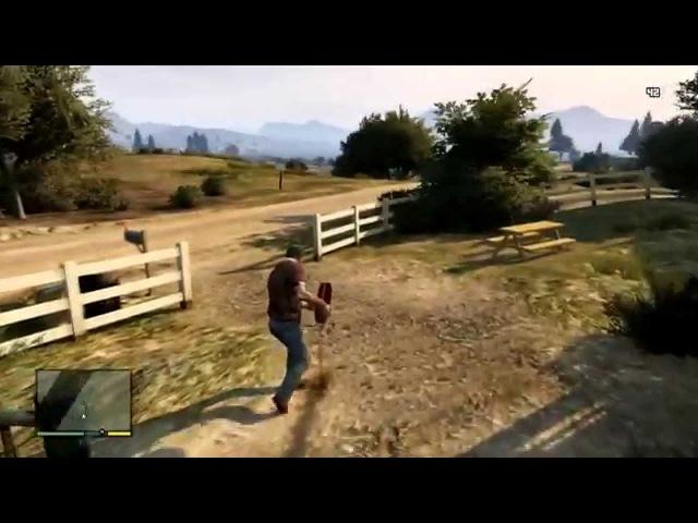 Полнометражный фильм Grand Theft Auto V - GTA 5 — Игрофильм (Full Movie) HD