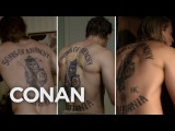 A Tribute To Charlie Hunnam's Naked Back - CONAN on TBS