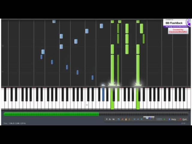 Aimo ~ Tori no Hito (Macross Frontier) Synthesia [Piano Tutorial]