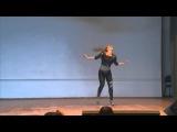 Эротик шоу, 1 место, профи, Серегина Елена 7-ой Dance Star Festival 1 часть.