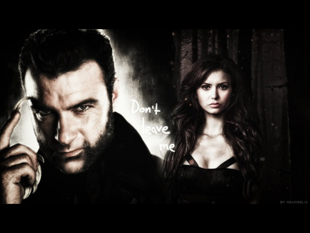 ►Victor Creed Katherine Pierce || Don't care [crossover AU]
