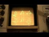 Воспроизведение мультфильма на осциллографе