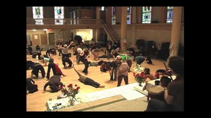 Anna Halprin Workshop for Movement Research NYC