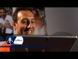 Cazorla watches his FA Cup Final free-kick | Flashback