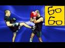 Бой с левшой в кикбоксинге урок кикбоксинга Юрия Караваева по работе проти