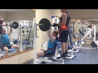 Джейсон Катлер ( Александр Галич ) - Тренировка 14.05.2015