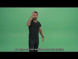 Shia labeouf - just do it! subtitulado al espanol