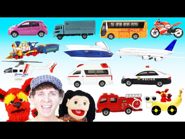 What Do You See Song | Vehicles and Transport | Learn English Kids