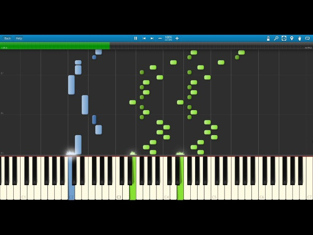 【Synthesia】FREEDOM DIVE