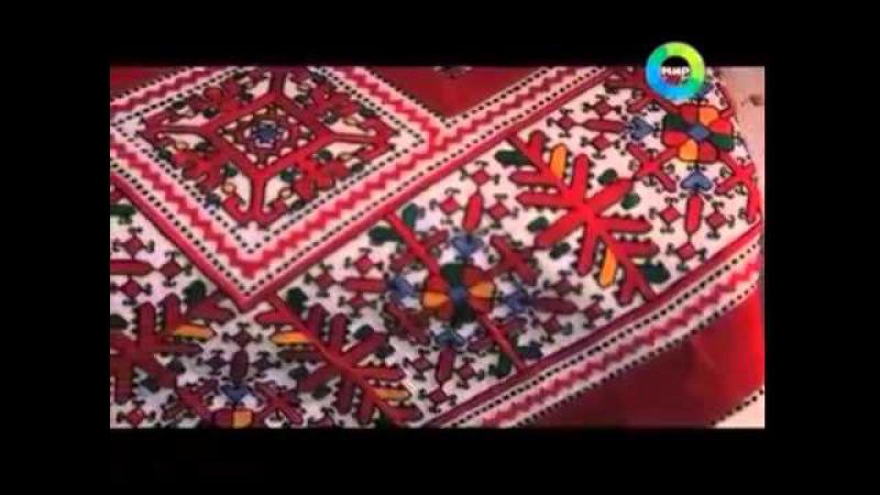 Передача о чувашской вышивке