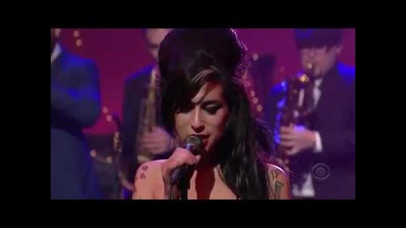 Amy Winehouse - Rehab (Live on David Letterman)