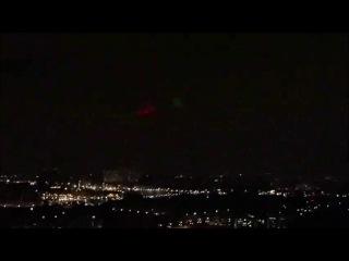 ШОК! 2 гигантских НЛО над Москвой 23 октября 2011