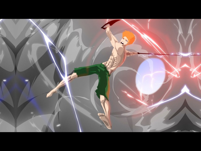 Lazar corp, creating scenes Bleach vs Naruto second part
