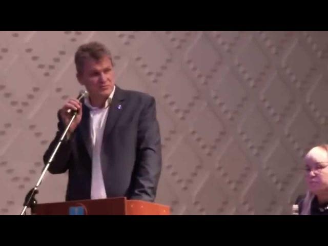 А. В. Куринный - Публичные слушания по рассмотрению проекта городского бюджета 2015.11.05