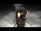 Костер шведская свеча или выживание на даче