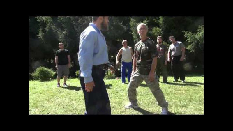 пляс и работа ногами - семинар в Словакии август 2015