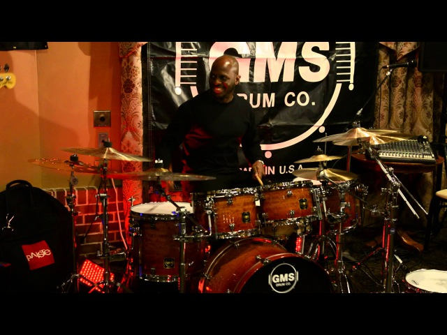 Drum Clinic Nathaniel Townsley GMS Drum Co Part 1