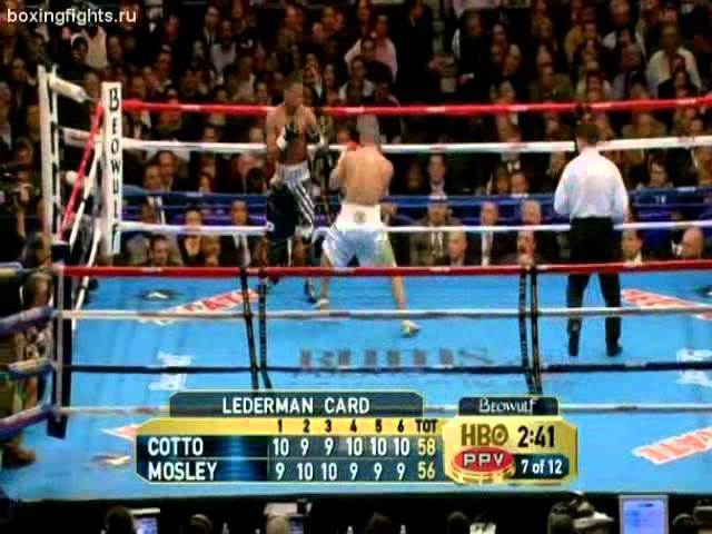 Shane Mosley - Miguel Angel Cotto