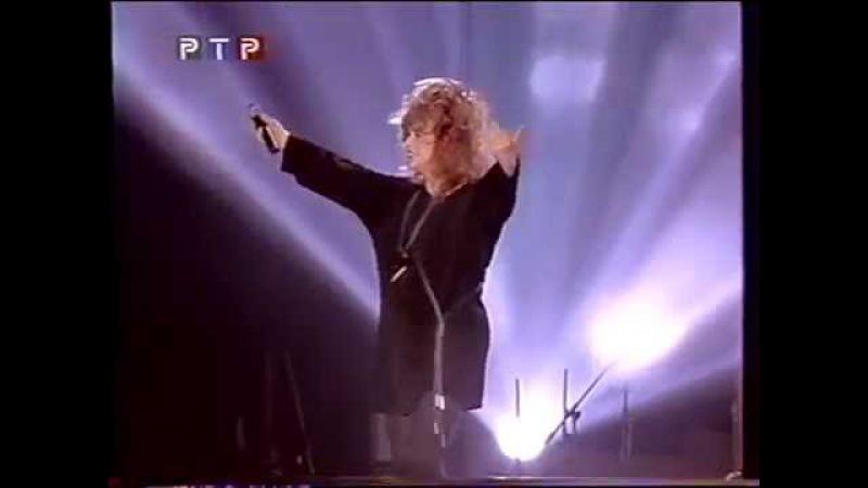 День рождения «Vision» Миллениум 99 фрагмент концерта. Алла Пугачева. 1999 г