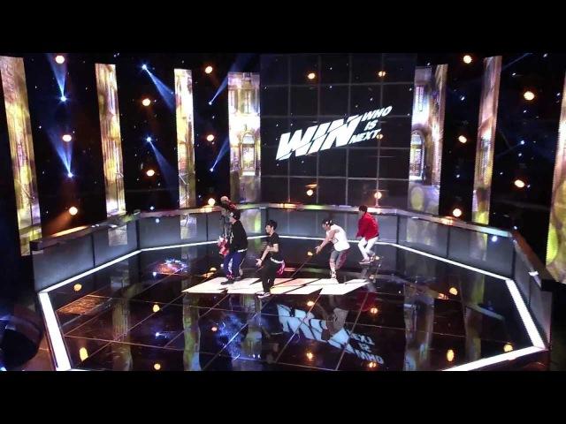 [WIN WHO IS NEXT] TEAM B 1st Battle Round 2 (Dance Battle) - 그xx (That XX) Crayon - G-DRAGON