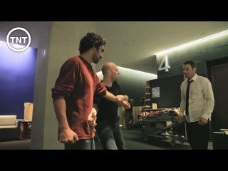 Fight Choreography | Transporter: The Series | TNT | Cyril Raffaelli