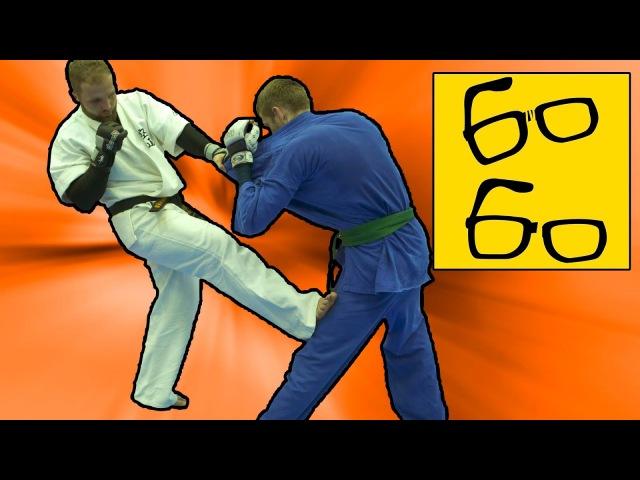 Комбинации ударной и борцовской техник в кудо — уроки KUDO Сергея Нилова и Василия Глебова