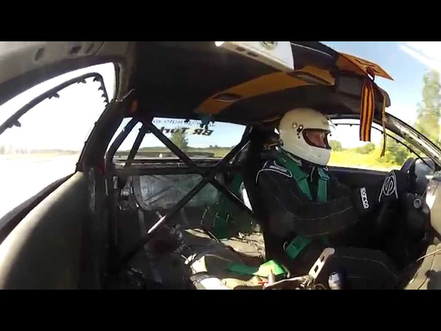One Mile Challenge 2015 5 6L Nissan GT R R32 350км ч