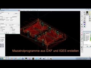 Mazak CAM Programmierung mit MazaCAM - Mazatrol Editor  CAD CAM